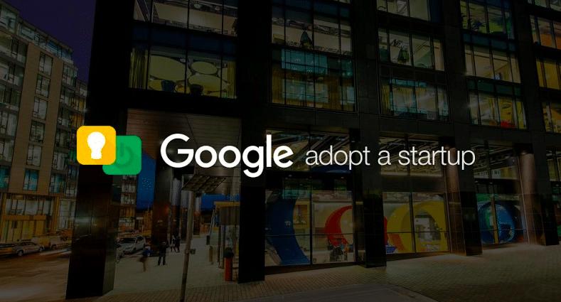 Google Adopt a Startup 2018